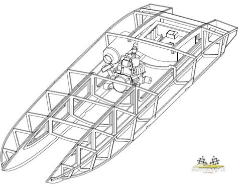 boat plans easy  build rc catamaran plans