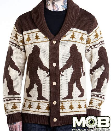 yeti sweater pattern forget ugly christmas sweaters it s creepy halloween