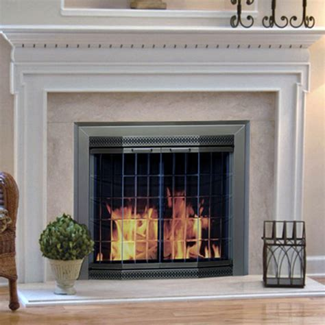 glass fireplace screens with doors quantiply co