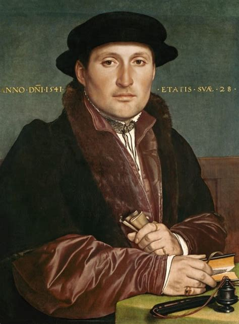holbein basic art 2 0 383656372x portrait of a young merchant by hans holbein the younger