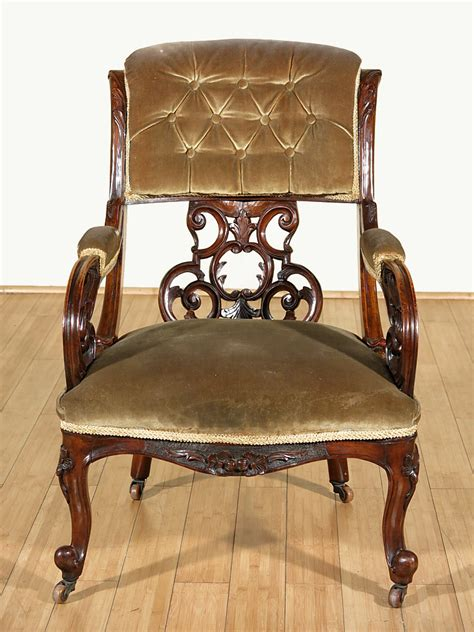 ebay antique upholstered bench c1850 antique walnut carved upholstered occasional arm