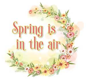 free spring is in the air flowers ebay template free