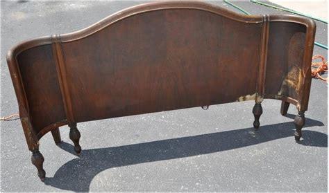 curved headboard top curved headboard on curved winged antique headboard