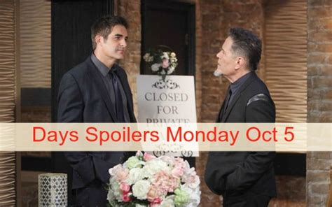 days of our lives spoilers stephen nichols peter reckell days of our lives dool spoilers chad redeemed by andre