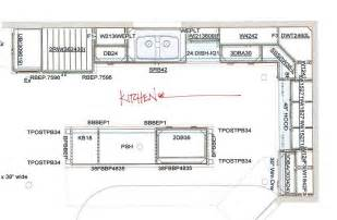 Floor Plan For Kitchen by Kitchen Remodel Floor Plans