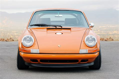orange porsche 911 singer racing orange porsche 911 porsche mania