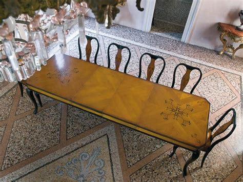 rechteckige esszimmer tische rechteckige tisch f 252 r esszimmer mit feinen holzeinlagen