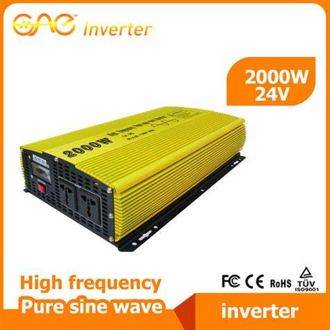 Power Inverter Sine Wafe Kaller 24v 2000w pi 2000w 24v high frequency sine wave inverter from foshan top one power technology co