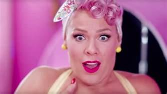 Beautiful Video   pink drops video for beautiful trauma starring channing