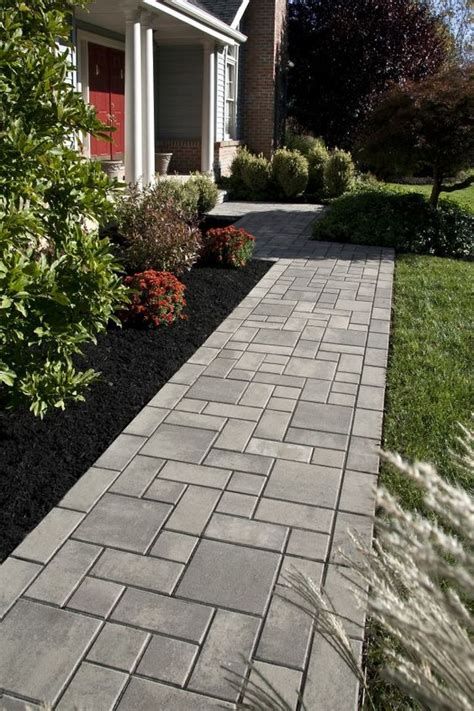 Cement Walkway Ideas Sted Concrete Walkway Ideas Aesthetic Addition To A