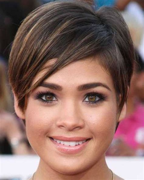 hair cut for fish face pixie hairstyles for round face and thin hair 2018 page
