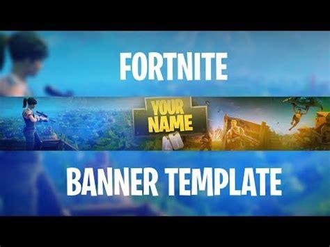Free Fortnite Banner Template Gfx Fortnite Banner Template