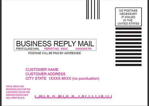 business reply mail card template postcard design and mailing free templates 4 215 6 5 215 7 6