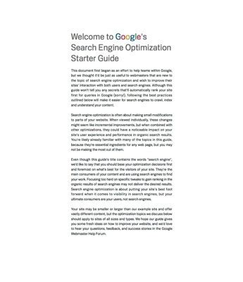 Seo Starter Guide by 15 Helpful Guides For Ecommerce Merchants Practical