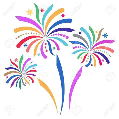 fuochi d artificio clipart fireworks clipart bonfire pencil and in color