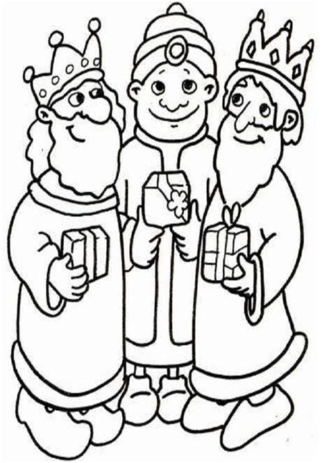 dibujos de navidad para colorear e imprimir reyes magos navidad dibujos para colorear