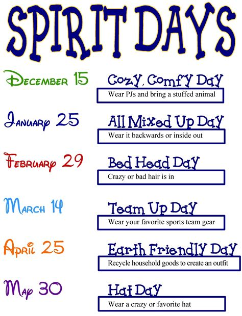 spirit day ideas 10 unique high school spirit week ideas