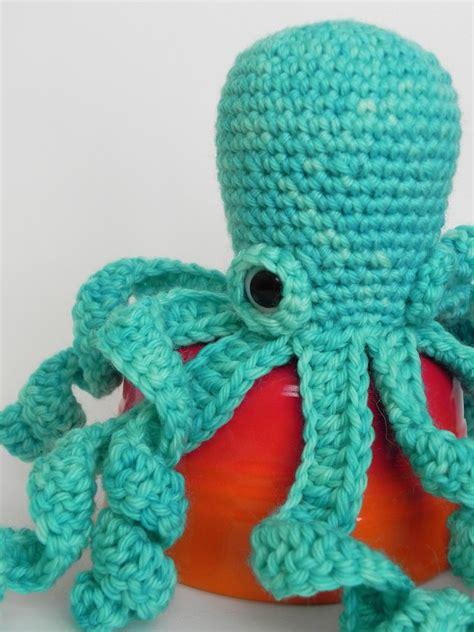 no knitting crochet octopus by no knit sherlock knithacker