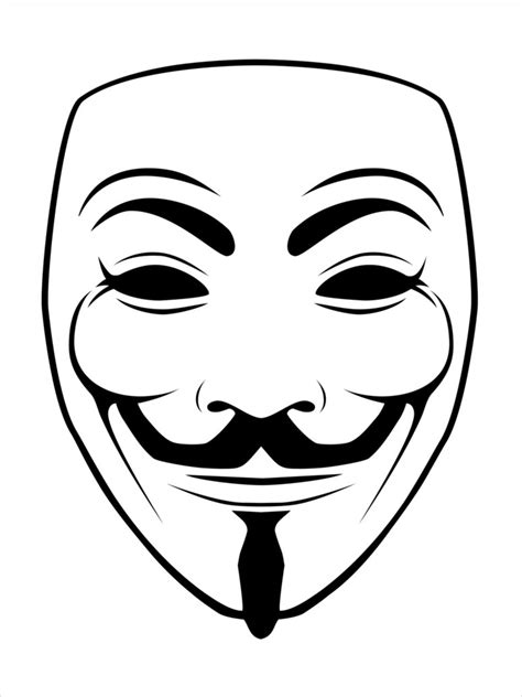 V For Vendetta Coloring Pages by V For Vendetta Mask Coloring Coloring Pages