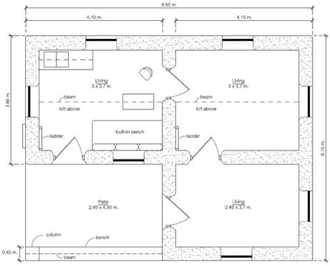add on floor plans 300 earthbag house earthbag house plans