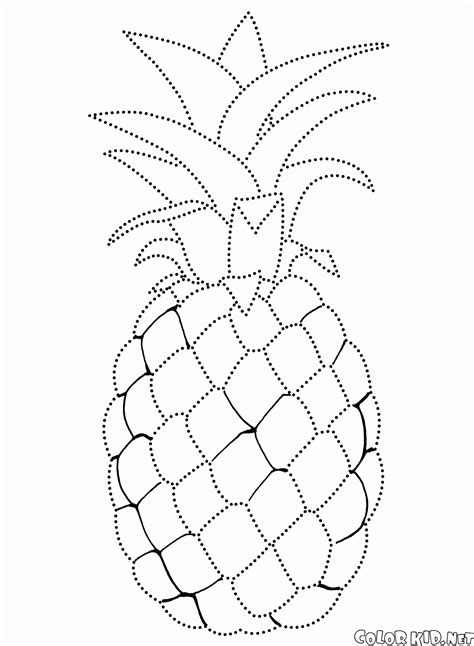 Coloring Page Of Apple Tree