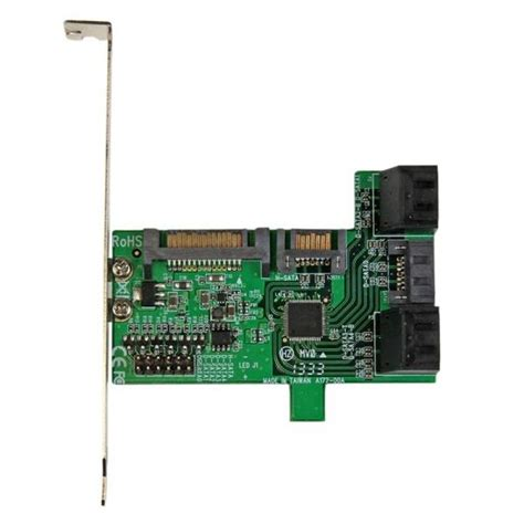esata multiplier card startech multiplier controller card 5 sata to