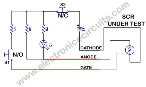 rectifier circuit using thyristor image gallery scr diagram