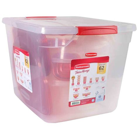 best plastic food storage containers rubbermaid 62 pc take alongs set plastic food storage
