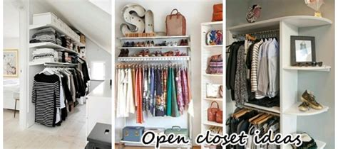closets for small spaces open closets small spaces 7539