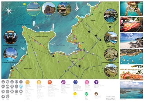 mauritius grand baie large grand baie maps for free and print high