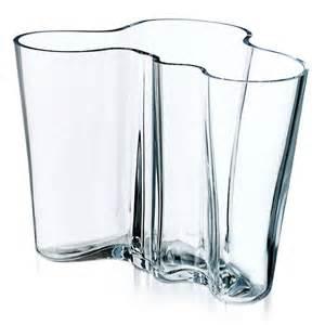 alvar aalto vase transparent 160 mm alvar aalto