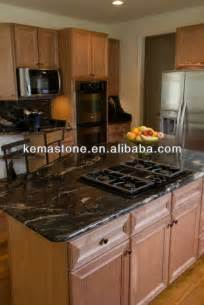 cosmic black granite kitchen island table tops view