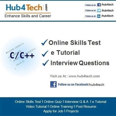 online tutorial of c language 1000 ideas about c language interview questions on