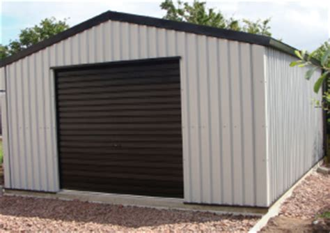 Large Metal Shed by Zekaria Building Timber Shed Base