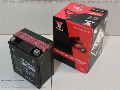 Harga Aki Rca Batt jual baterai aki motor yuasa ytx7l bs harga murah surabaya