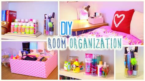 How To Make Decorations For Your Room Out Of Paper - diy room organization and storage ideas how to clean