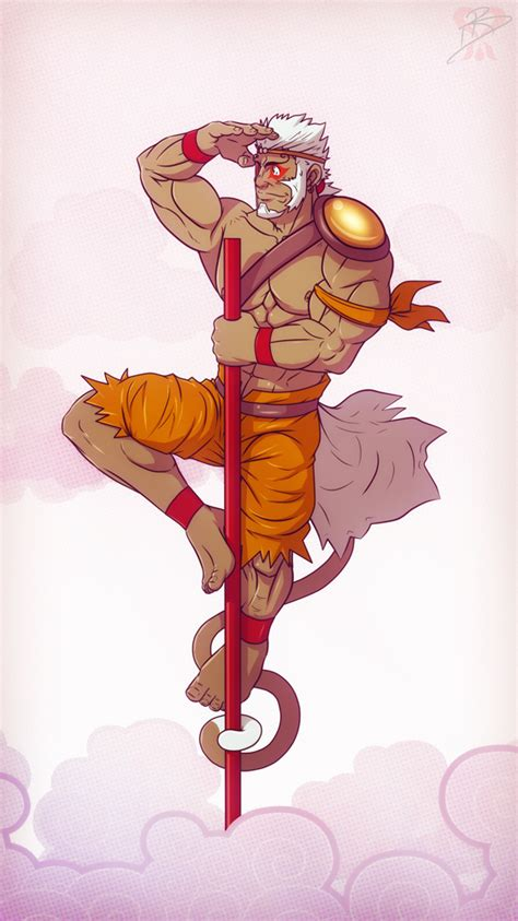 sun wukong or son goku by leomon32 on deviantart