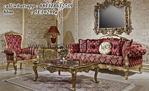 Kursi Sofa Elite set kursi sofa tamu mewah koltuk ksi 46 furniture idaman