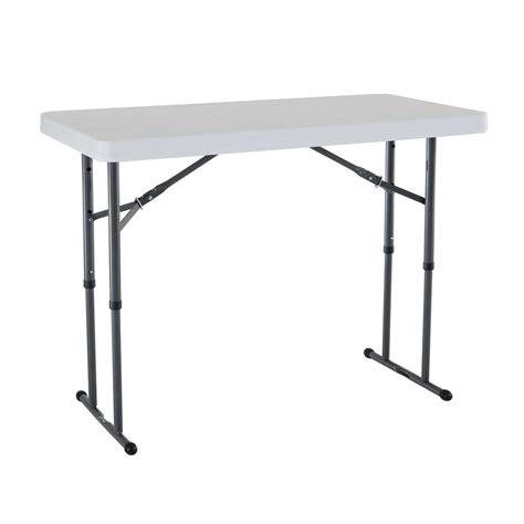 Adjustable Height Folding Table Adjustable Height Folding Table Serving Craft Tables