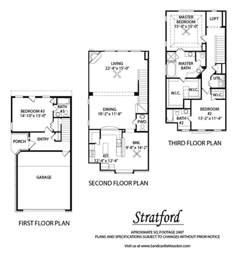 3 story townhouse floor plans the swlot awards for houston real estate 2013 the