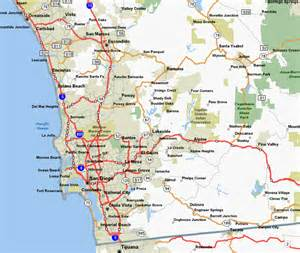 Map San Diego County by Description Of Bike Rides In San Diego County