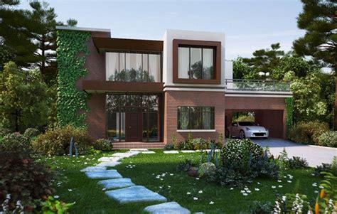 cocheras imagenes fachadas de casas con cochera y jardin imagenes de casas
