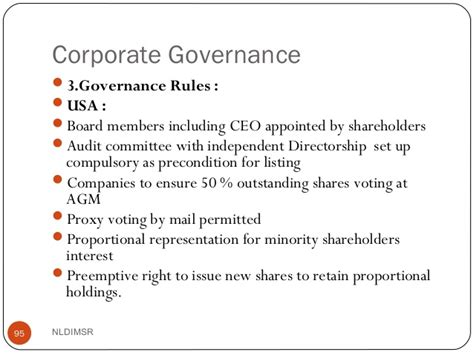 Mba Corporate Governance Uk by Corporate Govenrance Mba