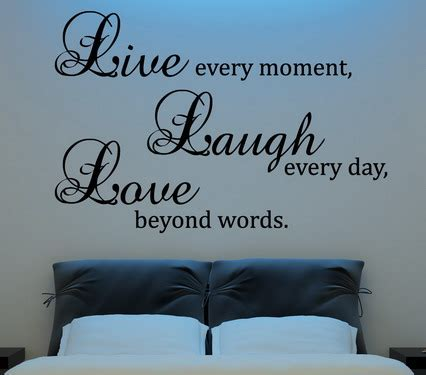 bedroom wall decor quotes quotes for your bedroom wall quotesgram