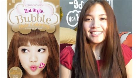 New Etude House Style Hair Coloring etude house hair coloring in brown