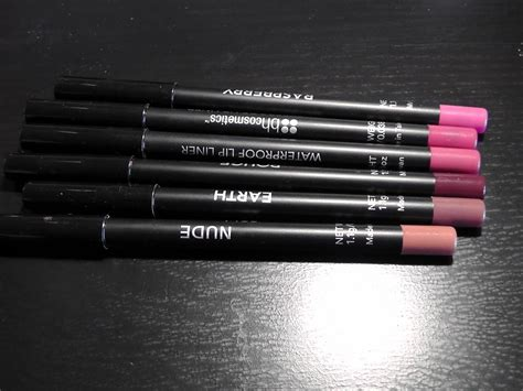 Waterproof Lip Liner Bh Cosmetics cherie s bh cosmetics waterproof lip liner review