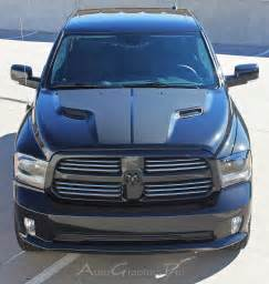 Dodge Ram 1500 Racing Stripes 2009 2016 Dodge Ram Quot Ram Hemi Quot Solid Center Winged