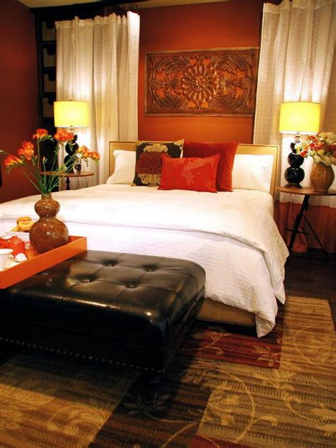 Orange Master Bedroom Decorating Ideas by 45 Beautiful Paint Color Ideas For Master Bedroom