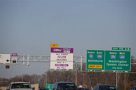 washington dc hov lanes map 395 s hov lanes may become lanes here s what happened