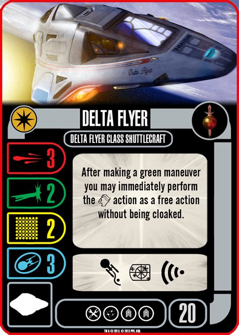 Trek Attack Wing Card Template by Trek Attack Wing Homebrew Timeless Danny S
